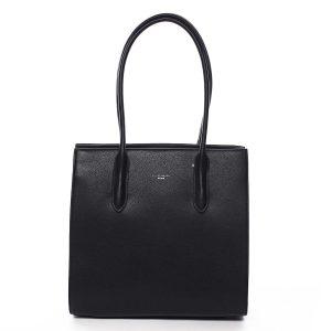Dámská kabelka přes rameno černá – David Jones Sementis černá