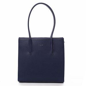 Dámská kabelka přes rameno tmavě modrá – David Jones Sementis tmavě modrá