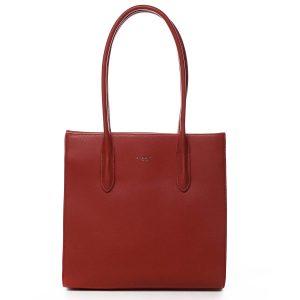Dámská kabelka přes rameno červená – David Jones Sementis červená