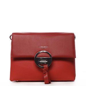 Dámská crossbody kabelka červená – David Jones Afiinisha červená