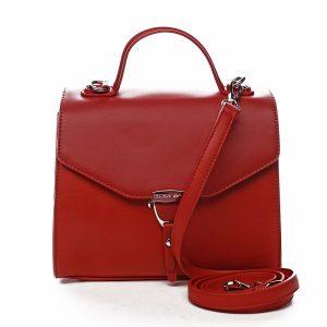 Dámská kabelka do ruky červená – David Jones California červená