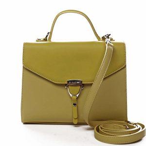 Dámská kabelka do ruky žlutá – David Jones California žlutá