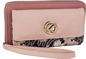 Verde Dámská peněženka 18-1025 Pink