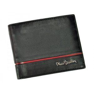 Pánská kožená peněženka Pierre Cardin Michel – černo-červená