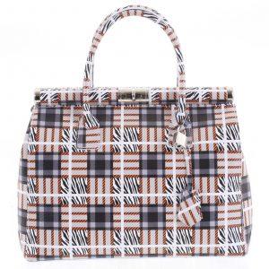 Módní originální dámská kožená kabelka do ruky barevná – ItalY Hila barevná