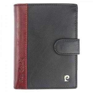 Pánská kožená peněženka Pierre Cardin Ferenca – červeno-černá