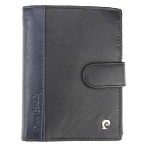 Pánská kožená peněženka Pierre Cardin Ferenca – modro-černá