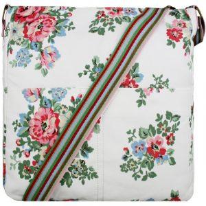 Kabelka Korra Floral Vintage – bílá