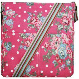 Kabelka Korra Floral Vintage – růžová