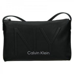Dámská crossbody kabelka Calvin Klein Petrona – černá