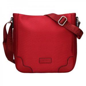Dámská crosbody kabelka Katana Runa – červená