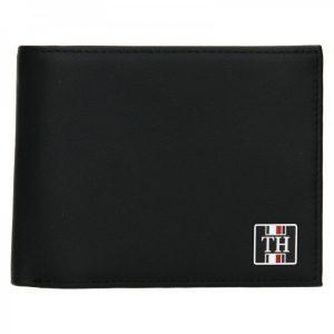 Pánská kožená peněženka Tommy Hilfiger Elling – černá