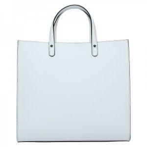 Dámská kožená kabelka Unidax Monarch – bílá