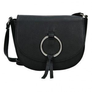 Dámská crosbody kabelka Vera Pelle Marea – černá