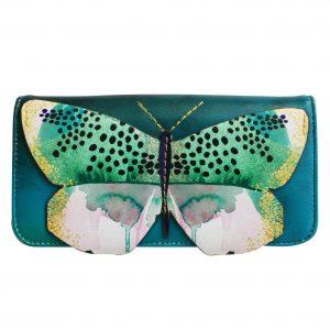 Disaster petrolejová peněženka Papillon Wallet