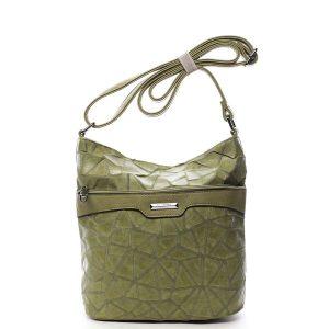 Dámská atraktivní crossbody kabelka zelená – Silvia Rosa Tanitha Cool zelená
