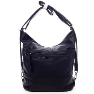 Dámská kabelka batoh černá – Romina Zilla černá
