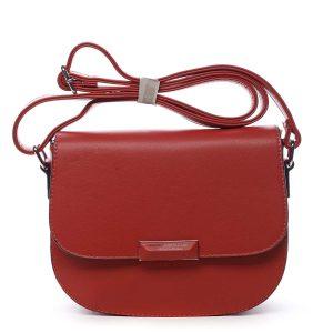 Dámská crossbody kabelka červená – Silvia Rosa Wanda červená