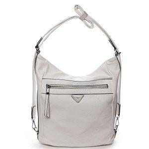 Dámská kabelka batoh krémově bílá – Romina Tonandis bílá