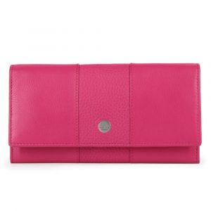 Maître Dámská kožená peněženka Auen Diedburg 4060001601 – růžová