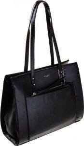 DAVID JONES ELEGANTNÍ BUSINESS SHOPPER BAG CM5677 BLACK Velikost: univerzální