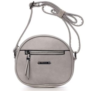 Dámská crossbody kabelka světle šedá – Romina Eilish šedá