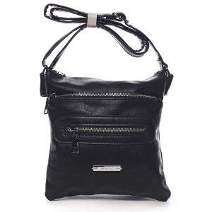 Dámská crossbody kabelka černá – Romina Chasing černá