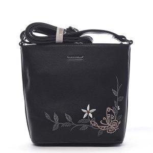 Dámská crossbody kabelka černá – Silvia Rosa Believa černá