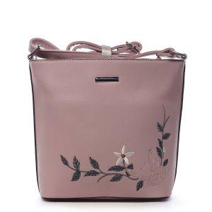 Dámská crossbody kabelka růžová – Silvia Rosa Believa růžová