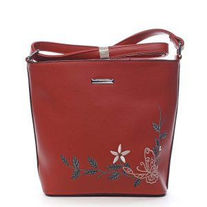 Dámská crossbody kabelka červená – Silvia Rosa Believa červená