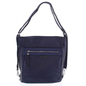 Dámská kabelka batoh tmavě modrá – Romina Tonandis tmavě modrá