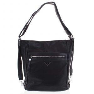 Dámská kabelka batoh černá – Romina Tonandis černá