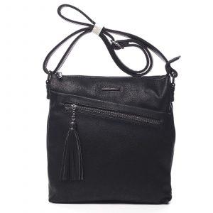 Dámská crossbody kabelky černá – Silvia Rosa Isibambo černá
