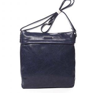 Dámská crossbody kabelky tmavě modrá – Silvia Rosa Dingeka Snake tmavě modrá