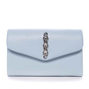 Dámské psaníčko světle modré – Michelle Moon Idaymane modrá