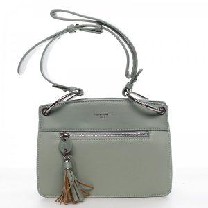 Dámska kabelka David Jones Grace – zelená