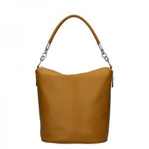 Dámská kožená kabelka Facebag Talma – světle hnědá