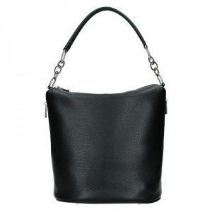 Dámská kožená kabelka Facebag Talma – černá