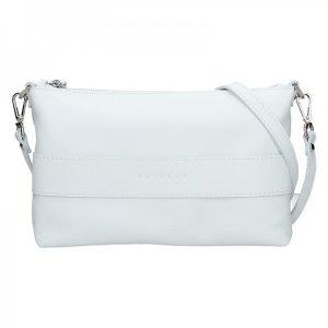 Dámská kožená kabelka Facebag Elesn – bílá