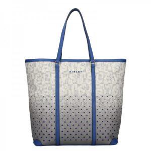 Dámská kabelka Sisley Brenda – šedo-modrá