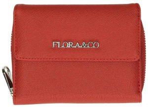 FLORA & CO Dámská peněženka K6011 Rouge