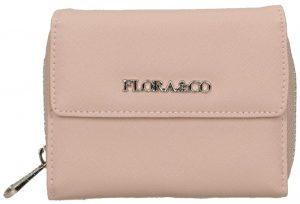 FLORA & CO Dámská peněženka K6011 Rose Pale