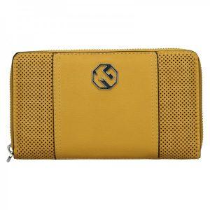 Dámská peněženka Marina Galanti Irenna – žlutá
