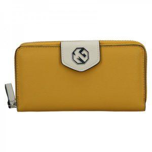 Dámská peněženka Marina Galanti Linna – žlutá