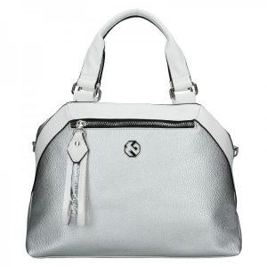 Dámská kabelka Marina Galanti Soffa – stříbrná