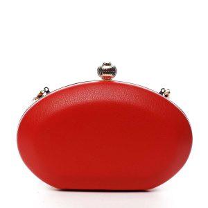 Dámské psaníčko červené – Delami LK4600 červená