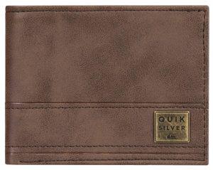 Quiksilver Pánská peněženka New Stitchy Wallet Chocolate Brown EQYAA03900-CSD0