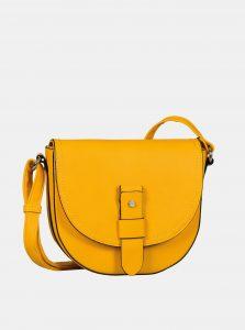Žlutá crossbody kabelka Tom Tailor Matera