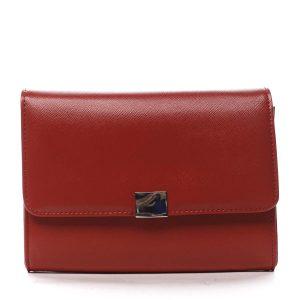 Dámské psaníčko červené saffiano – Michelle Moon F900 červená
