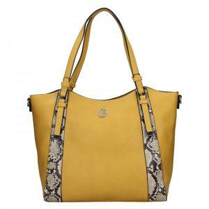 Dámská kabelka Marina Galanti Tiama – žlutá
